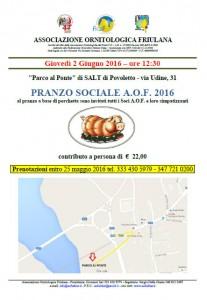 Pranzo Sociale 2016