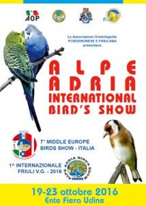Mostra Alpe Adria International Bird's Show 2016