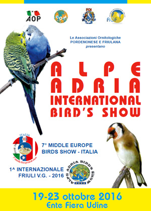 Mostra Alpe Adria International Bird's Show 2016