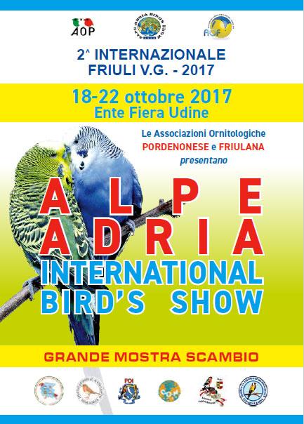 ALPE ADRIA INTERNATIONAL BIRD'S SHOW 2017