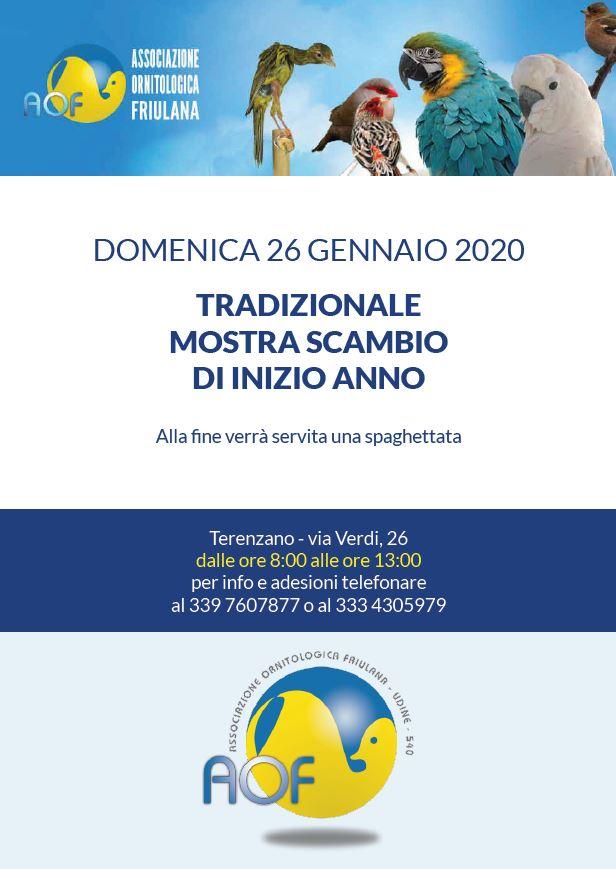 Locandina Mostra Scambio 2020