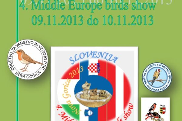 4 middle europe birds show slovenija